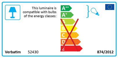 52430 Global Energy Rating Label