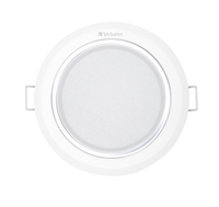 Plafonnier LED Verbatim 104 mm 11 W 3 000 K 800 lm