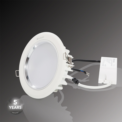 Downlight LED à encastrer Verbatim 104mm 11W 3000K 800lm