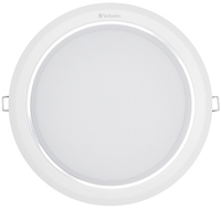 Plafonnier LED Verbatim 183 mm 21 W 4 000 K 1900 lm