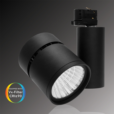 Verbatim LED Tracklight 28W 3000K 2400lm Black