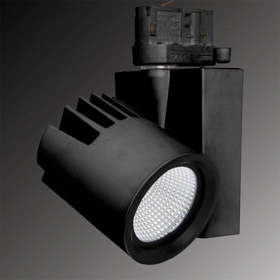 Verbatim LED Track Light 24W 3000K 2400lm 45D Black
