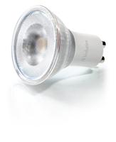 L�mpara dicroica LED GU10 de�4�W,�3000�K�y�250�lm�de Verbatim