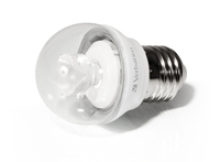 Verbatim LED Mini Globe klar E27 4,5 W