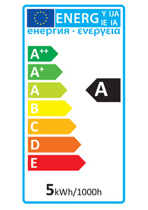 52618 Energy Rating Label