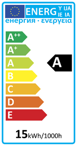 52625 Global Energy Rating Label