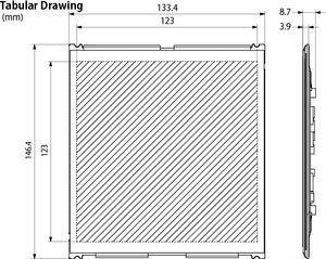 52802 Tabular drawing