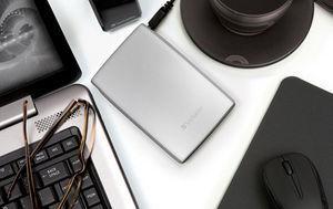 HardDrives Portable USB 2.0 Silver
