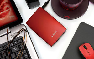 HardDrives Portable USB2Colours 320GB Red
