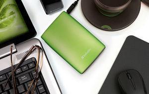 HardDrives Portable USB2Colours 500GB Green