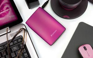 HardDrives Portable USB2Colours 500GBPink