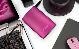 HardDrives Portable USB2Colours 500GBPink