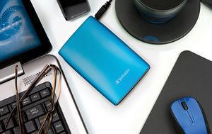 HardDrives Portable USB2Colours 500GB Blue