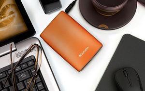 HardDrives Portable USB2Colours 500GBOrange