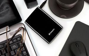 HardDrives Portable USB2Colours 320GB Black