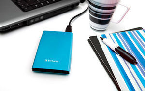 HardDrives Portable USB 3.0 Colours Blue