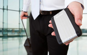 HardDrives Portable Traveller Silver
