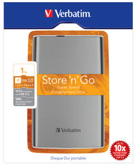 Disque dur portable USB Store 'n' Go 3.0, 1�To, gris graphite