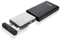 Store 'n' Save 3.5'' Enclosure Kit USB 3.0 in metallo