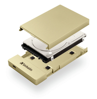 Store 'n' Go Enclosure Kit para HDD/SSD 2,5'' USB-C/3.1 - Oro
