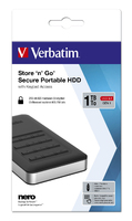 Store 'n' Go Secure Portable Hard Drive mit Code-Zugang