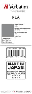 55283 PLA 2.85mm 1kg Label