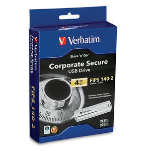 96713 Corporate Secure USB Drive 4GB