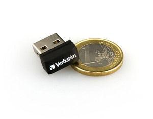 97464 NANO USB Drive + Euro Coin 3
