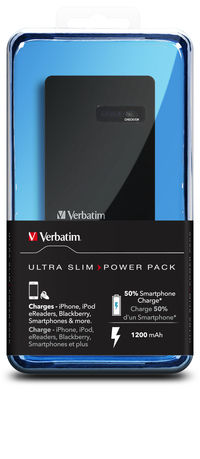 Ultra-Slim Power Pack: 1200 mAh