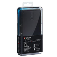 Dual USB Portable Power Pack: 5200 mAh