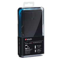 Dual USB Portable Power Pack: 8400 mAh