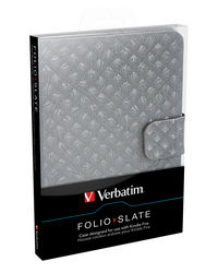 Folio-case til Kindle Fire - Slate Silver