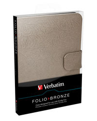 Funda Folio para Kindle Fire: Bronce