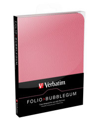 Folio tuggummirosa - f�r iPad mini/mini med Retina-display