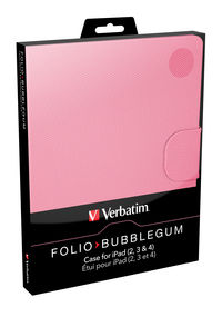 Folio para iPad: rosa chicle