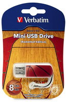 Memoria USB Mini de 8 GB Sports Edition: Baloncesto