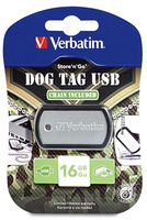 Cl� USB Dog Tag (16�Go)