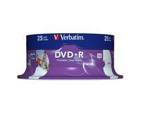 DVD+R Wide Inkjet Printable ID Brand