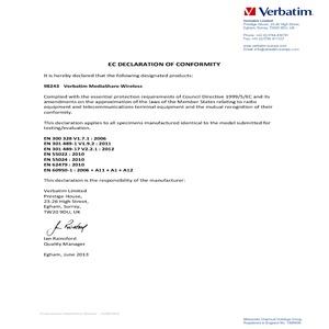 EC Declaration MediaShare Wireless