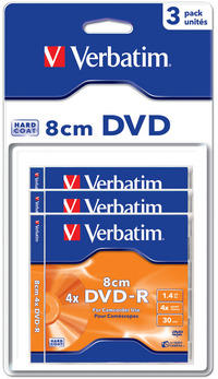 DVD-R 8cm Matt Silver Hardcoated