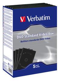 Tyhj�t DVD-vakiokotelot