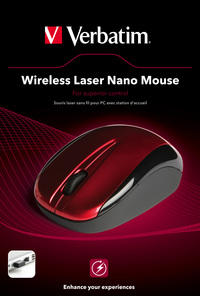 Mouse laser nano wireless