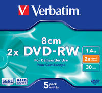 DVD-RW 8cm Matt Silver