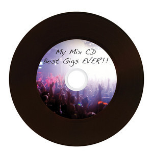 43710 CD-R Vinyl Global Disc Surface printed