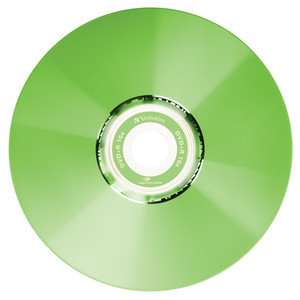 43658 DVD+R LightScribe Colour Global Disc Surface Green