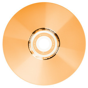 43658 DVD+R LightScribe Colour Global Disc Surface Orange