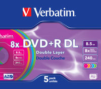 DVD+R Double Layer Colour 8x