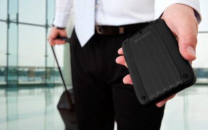 HardDrives Portable Traveller Black