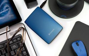 HardDrives Portable USB2Colours 320GB Blue