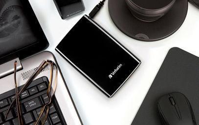 HardDrives Portable USB2Colours 500GBBlack